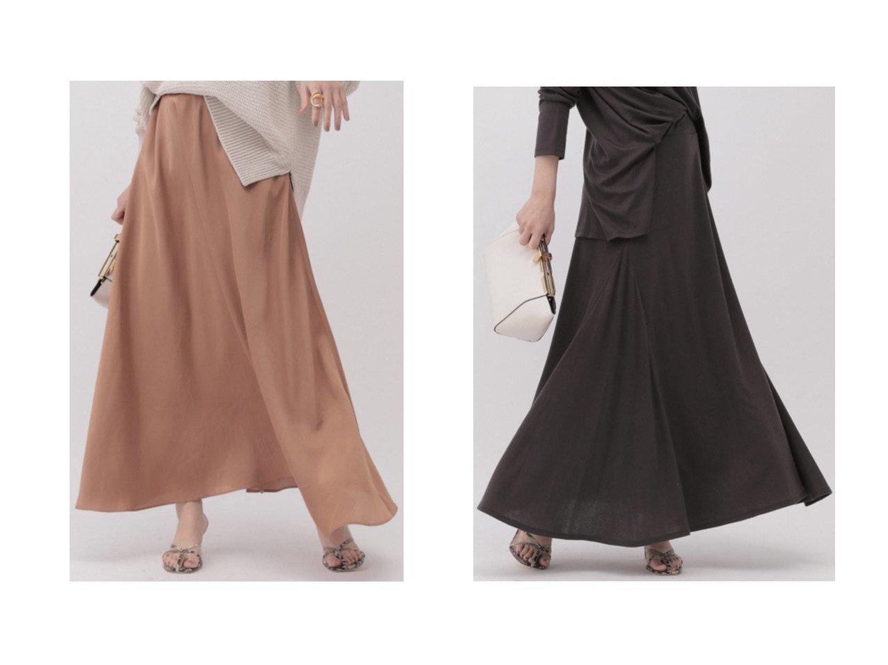 【Chaos/カオス】のジュールサテンフレアースカート&マージミラノカットロングスカート スカートのおすすめ!人気、トレンド・レディースファッションの通販  おすすめで人気の流行・トレンド、ファッションの通販商品 メンズファッション・キッズファッション・インテリア・家具・レディースファッション・服の通販 founy(ファニー) https://founy.com/ ファッション Fashion レディースファッション WOMEN スカート Skirt ロングスカート Long Skirt 2021年 2021 2021 春夏 S/S SS Spring/Summer 2021 S/S 春夏 SS Spring/Summer エアリー シルク シンプル フレア ロング 春 Spring |ID:crp329100000015598