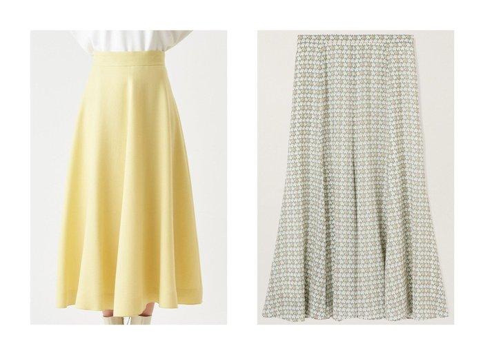 【ANAYI/アナイ】のウールジョーゼットフレアスカート&バードプリントフレアスカート スカートのおすすめ!人気、トレンド・レディースファッションの通販  おすすめファッション通販アイテム レディースファッション・服の通販 founy(ファニー) ファッション Fashion レディースファッション WOMEN スカート Skirt Aライン/フレアスカート Flared A-Line Skirts ロングスカート Long Skirt 2021年 2021 2021 春夏 S/S SS Spring/Summer 2021 S/S 春夏 SS Spring/Summer ストレッチ セットアップ フレア プリント ロング 春 Spring |ID:crp329100000015600