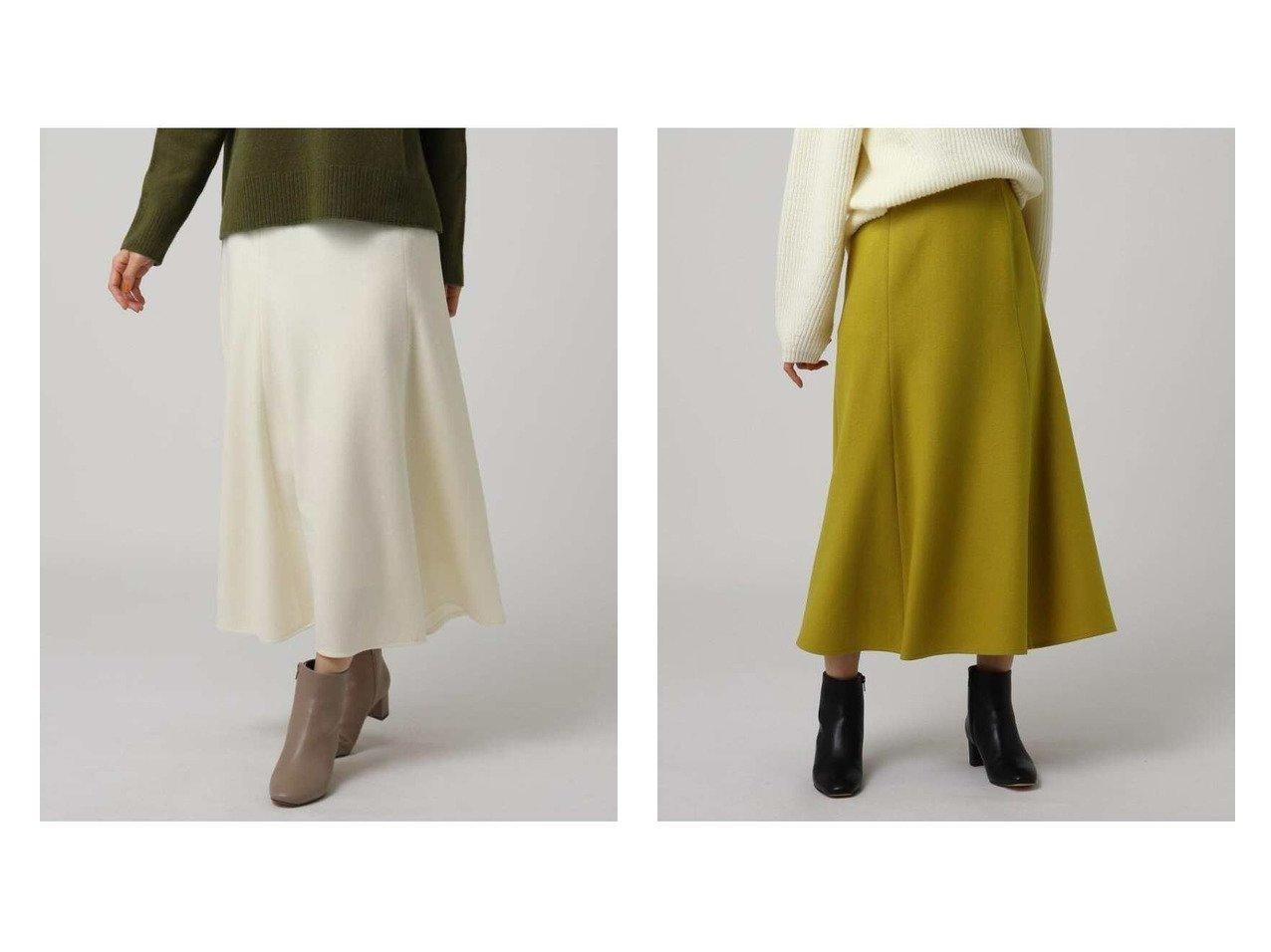 【UNTITLED/アンタイトル】のルミナリーミルドジャージマーメイドスカート スカートのおすすめ!人気、トレンド・レディースファッションの通販  おすすめで人気の流行・トレンド、ファッションの通販商品 メンズファッション・キッズファッション・インテリア・家具・レディースファッション・服の通販 founy(ファニー) https://founy.com/ ファッション Fashion レディースファッション WOMEN スカート Skirt フィット マーメイド |ID:crp329100000015604