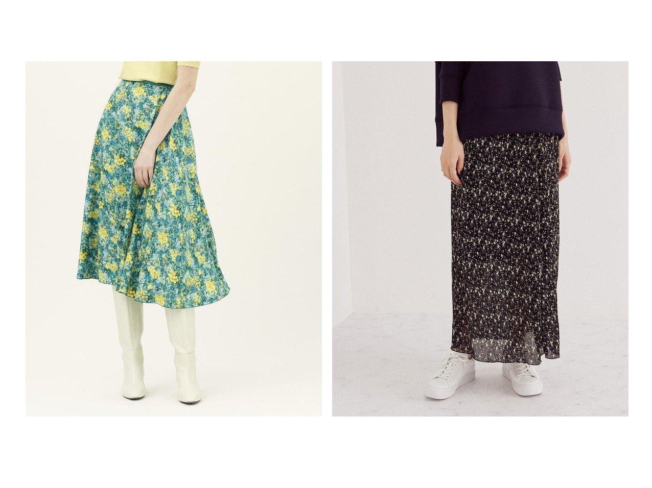 【ROPE/ロペ】のフラワープリントワッシャープリーツストレートスカート&【TOMORROWLAND BALLSEY/トゥモローランド ボールジー】のウィンドフラワープリント アシンメトリータックフレアスカート スカートのおすすめ!人気、トレンド・レディースファッションの通販  おすすめで人気の流行・トレンド、ファッションの通販商品 メンズファッション・キッズファッション・インテリア・家具・レディースファッション・服の通販 founy(ファニー) https://founy.com/ ファッション Fashion レディースファッション WOMEN スカート Skirt Aライン/フレアスカート Flared A-Line Skirts ギャザー コンパクト シンプル ジョーゼット スニーカー トレンド パーカー プリント プリーツ ポケット ミックス リラックス 2021年 2021 2021 春夏 S/S SS Spring/Summer 2021 S/S 春夏 SS Spring/Summer アシンメトリー クラシカル シルク フレア 再入荷 Restock/Back in Stock/Re Arrival |ID:crp329100000015606