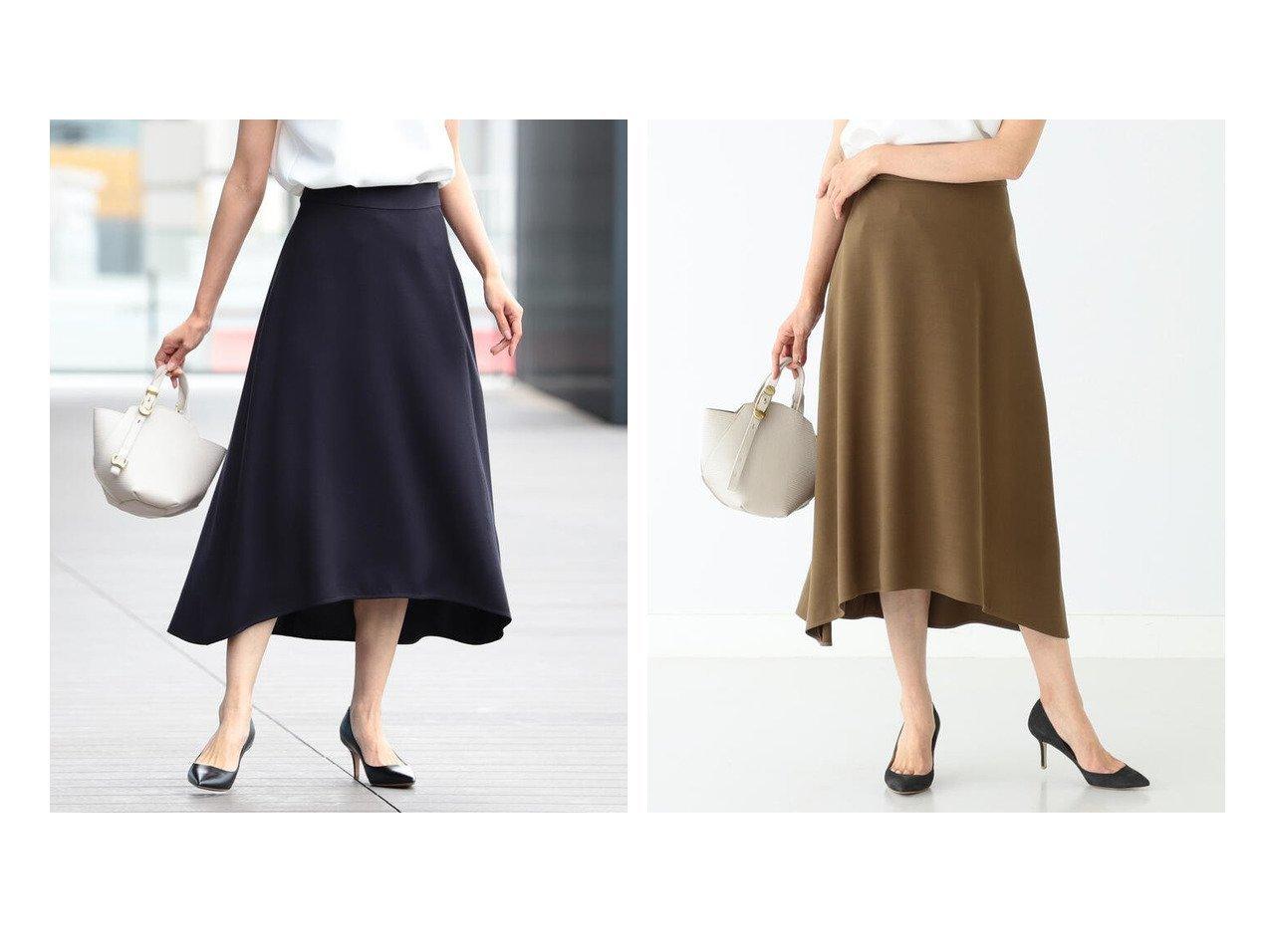 【Demi-Luxe BEAMS/デミルクス ビームス】のDemi- レーヨンシルク フレアスカート 21FO スカートのおすすめ!人気、トレンド・レディースファッションの通販  おすすめで人気の流行・トレンド、ファッションの通販商品 メンズファッション・キッズファッション・インテリア・家具・レディースファッション・服の通販 founy(ファニー) https://founy.com/ ファッション Fashion レディースファッション WOMEN スカート Skirt Aライン/フレアスカート Flared A-Line Skirts とろみ ギャザー シルク シンプル フィット フォーマル フレア |ID:crp329100000015607