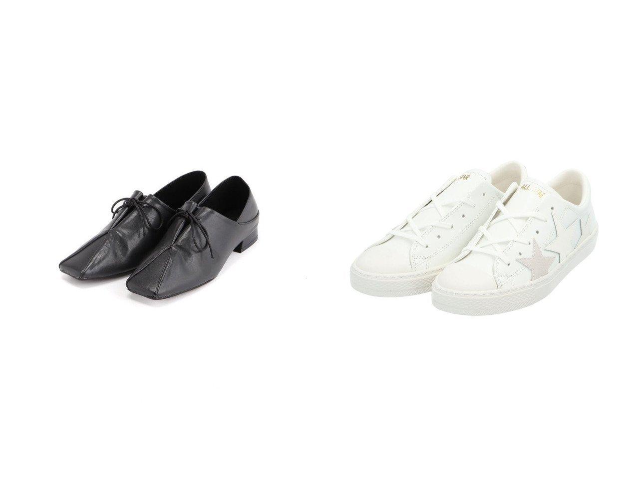 【CONVERSE/コンバース】のALL STAR COUPE TRIOSTAR OX&【JEANASiS/ジーナシス】のソフトレザーキリカエシューズ シューズ・靴のおすすめ!人気、トレンド・レディースファッションの通販  おすすめで人気の流行・トレンド、ファッションの通販商品 メンズファッション・キッズファッション・インテリア・家具・レディースファッション・服の通販 founy(ファニー) https://founy.com/ ファッション Fashion レディースファッション WOMEN NEW・新作・新着・新入荷 New Arrivals シューズ シンプル ドレス フラット マニッシュ 2021年 2021 2021 春夏 S/S SS Spring/Summer 2021 S/S 春夏 SS Spring/Summer エナメル スエード スニーカー スリッポン 人気  ID:crp329100000015623