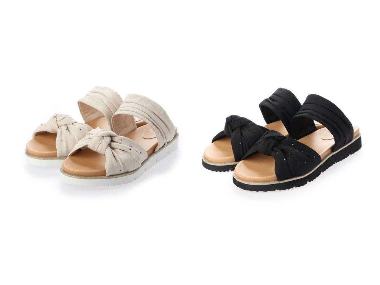 【ing/イング】のing 【i.ing】フラットミュールサンダル シューズ・靴のおすすめ!人気、トレンド・レディースファッションの通販  おすすめで人気の流行・トレンド、ファッションの通販商品 メンズファッション・キッズファッション・インテリア・家具・レディースファッション・服の通販 founy(ファニー) https://founy.com/ ファッション Fashion レディースファッション WOMEN 送料無料 Free Shipping サンダル ストーン フェミニン フラット リボン  ID:crp329100000015628