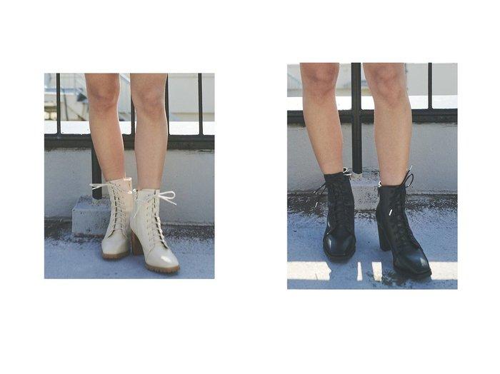 【EGOIST/エゴイスト】のスクエアトゥレースUPブーツ シューズ・靴のおすすめ!人気、トレンド・レディースファッションの通販  おすすめ人気トレンドファッション通販アイテム 人気、トレンドファッション・服の通販 founy(ファニー)  ファッション Fashion レディースファッション WOMEN 2021年 2021 2021-2022 秋冬 A/W AW Autumn/Winter / FW Fall-Winter 2021-2022 A/W 秋冬 AW Autumn/Winter / FW Fall-Winter ショート スタイリッシュ ダウン ヌーディ レース 定番 Standard |ID:crp329100000015632
