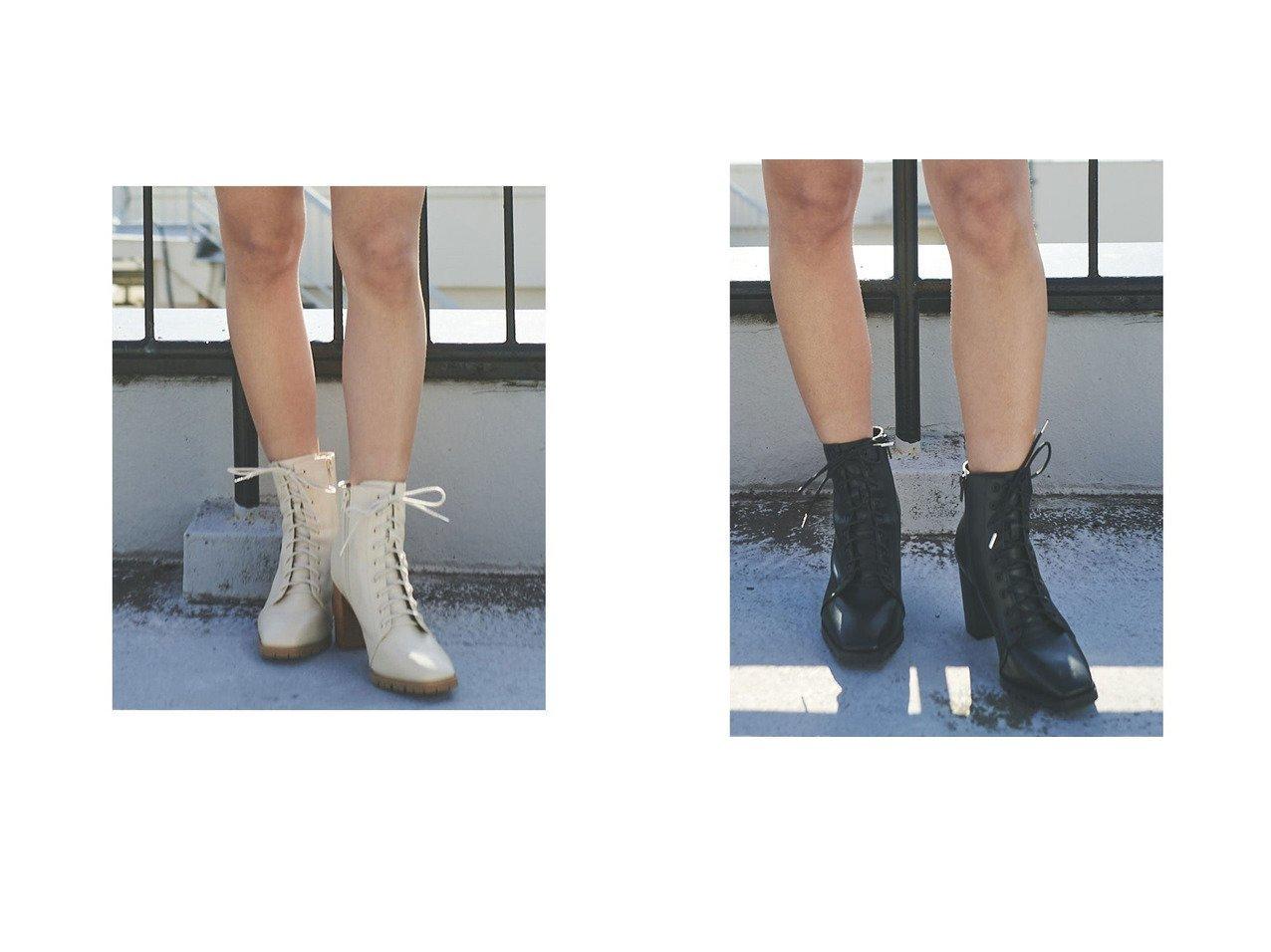 【EGOIST/エゴイスト】のスクエアトゥレースUPブーツ シューズ・靴のおすすめ!人気、トレンド・レディースファッションの通販  おすすめで人気の流行・トレンド、ファッションの通販商品 メンズファッション・キッズファッション・インテリア・家具・レディースファッション・服の通販 founy(ファニー) https://founy.com/ ファッション Fashion レディースファッション WOMEN 2021年 2021 2021-2022 秋冬 A/W AW Autumn/Winter / FW Fall-Winter 2021-2022 A/W 秋冬 AW Autumn/Winter / FW Fall-Winter ショート スタイリッシュ ダウン ヌーディ レース 定番 Standard  ID:crp329100000015632