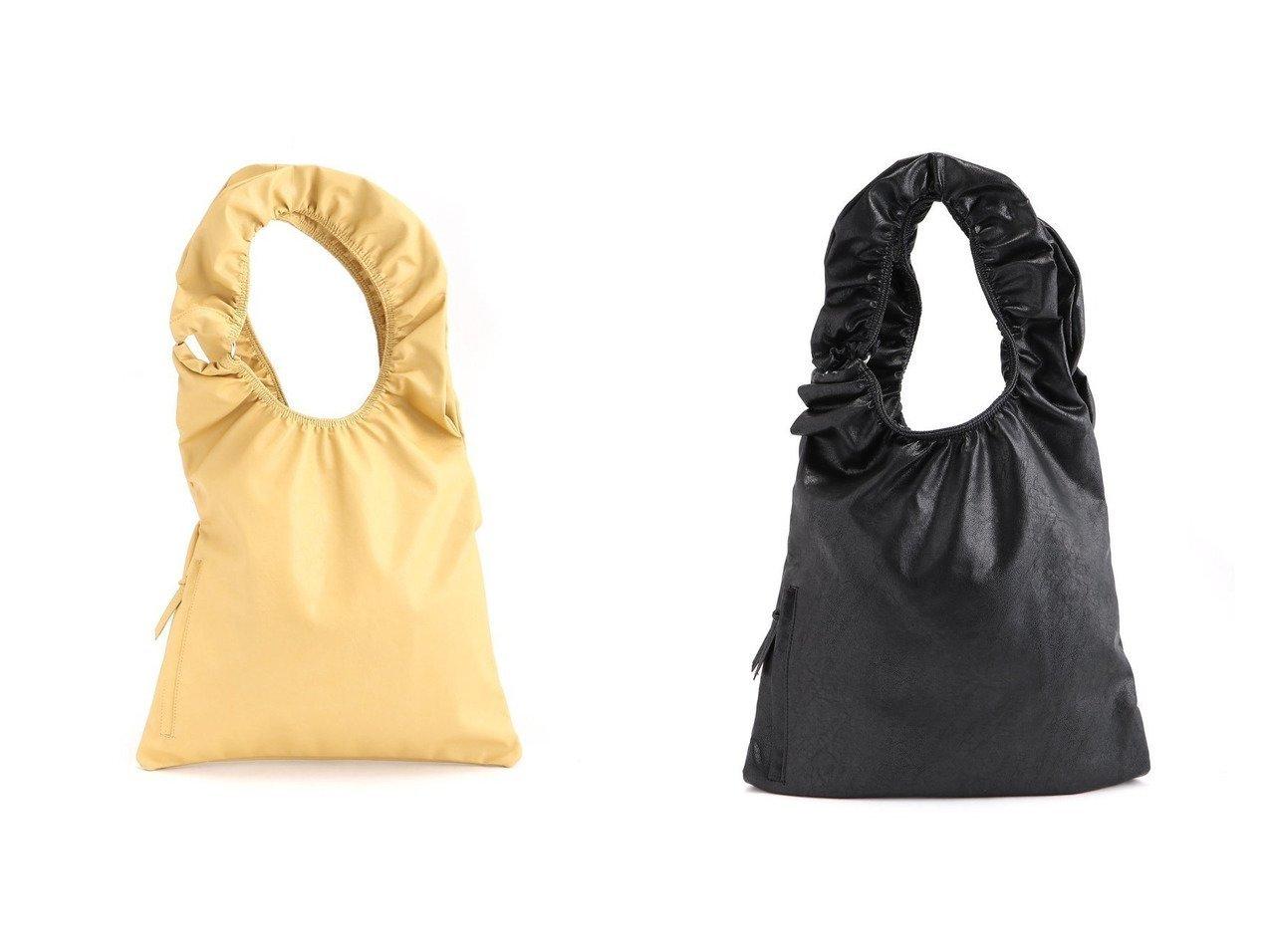 【JEANASiS/ジーナシス】のギャザーハンドルリングトート バッグ・鞄のおすすめ!人気、トレンド・レディースファッションの通販  おすすめで人気の流行・トレンド、ファッションの通販商品 メンズファッション・キッズファッション・インテリア・家具・レディースファッション・服の通販 founy(ファニー) https://founy.com/ ファッション Fashion レディースファッション WOMEN バッグ Bag NEW・新作・新着・新入荷 New Arrivals ギャザー シャーリング ショルダー フリル リラックス |ID:crp329100000015637
