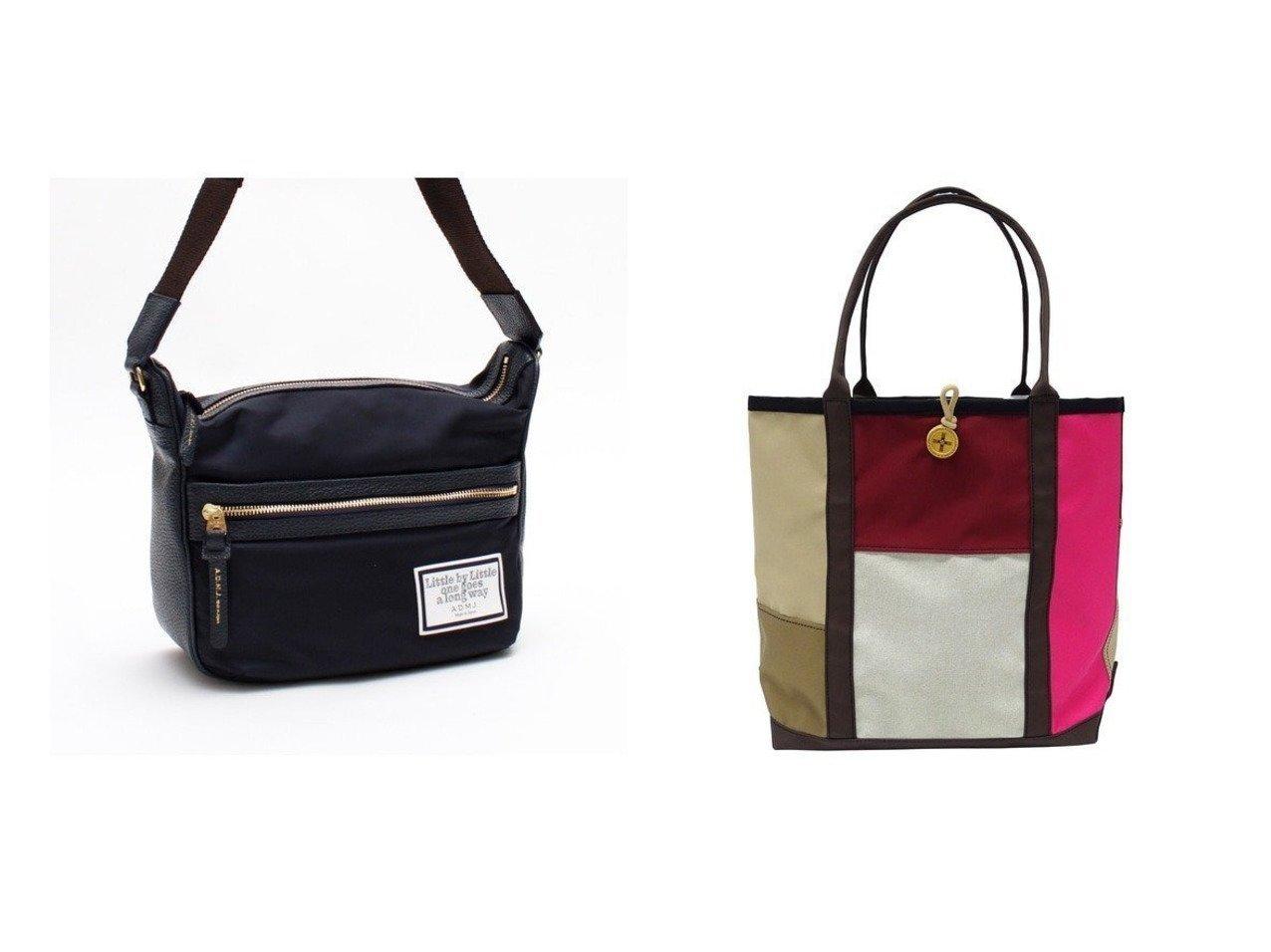 【+RING/プラスリング】の撥水トートバッグ ML CHO SR249&【A.D.M.J/アクセソワドゥマドモワゼルジャップ】のリモンタナイロン 25cm SHOULDER BAG バッグ・鞄のおすすめ!人気、トレンド・レディースファッションの通販  おすすめで人気の流行・トレンド、ファッションの通販商品 メンズファッション・キッズファッション・インテリア・家具・レディースファッション・服の通販 founy(ファニー) https://founy.com/ ファッション Fashion レディースファッション WOMEN バッグ Bag ショルダー ダブル 人気 ポケット ラップ リボン 送料無料 Free Shipping パッチワーク 傘 雑誌 |ID:crp329100000015639