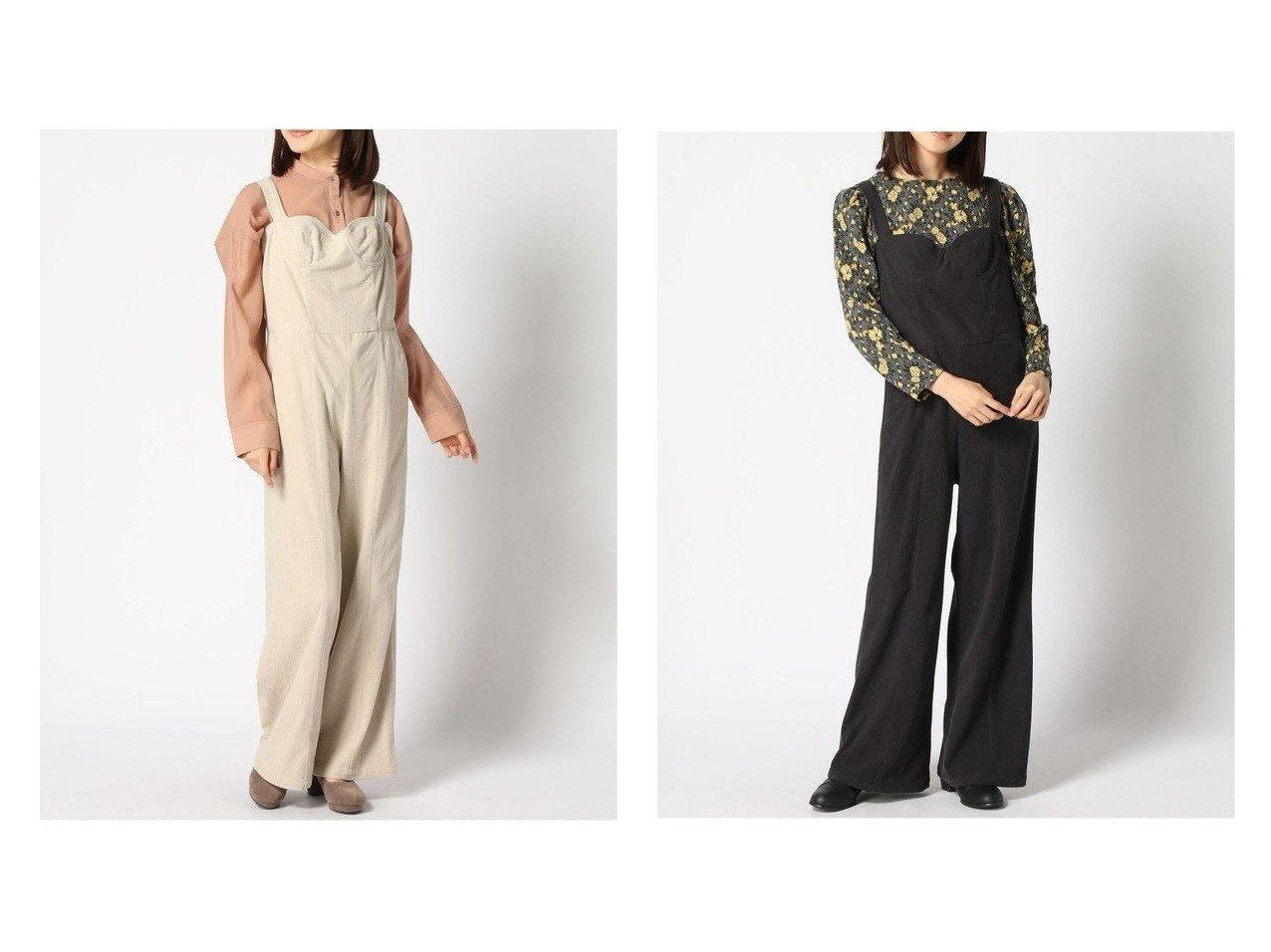 【U by Spick&Span/ユーバイ スピック&スパン】のコーデュロイ ビスチェオールインワン2 おすすめ!人気、トレンド・レディースファッションの通販  おすすめで人気の流行・トレンド、ファッションの通販商品 メンズファッション・キッズファッション・インテリア・家具・レディースファッション・服の通販 founy(ファニー) https://founy.com/ ファッション Fashion レディースファッション WOMEN NEW・新作・新着・新入荷 New Arrivals 2020年 2020 2020-2021 秋冬 A/W AW Autumn/Winter / FW Fall-Winter 2020-2021 A/W 秋冬 AW Autumn/Winter / FW Fall-Winter コーデュロイ サロペット ジーンズ |ID:crp329100000015660