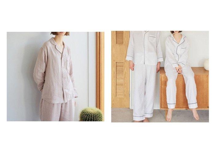 【URBAN RESEARCH/アーバンリサーチ】のURBAN RESEARCH×UCHINO マシュマロガーゼパジャマ おすすめ!人気、トレンド・レディースファッションの通販  おすすめ人気トレンドファッション通販アイテム 人気、トレンドファッション・服の通販 founy(ファニー)  ファッション Fashion レディースファッション WOMEN インナー パジャマ  ID:crp329100000015675
