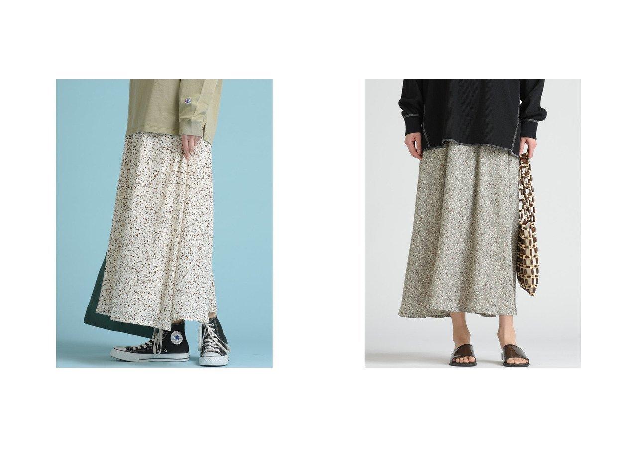 【LIPSTAR/リップスター】の【WEB別注】ドットフラワースカート 別注・限定・コラボなど、おすすめ!人気トレンド・レディースファッション通販 おすすめで人気の流行・トレンド、ファッションの通販商品 メンズファッション・キッズファッション・インテリア・家具・レディースファッション・服の通販 founy(ファニー) https://founy.com/ ファッション Fashion レディースファッション WOMEN スカート Skirt 2020年 2020 2020 春夏 S/S SS Spring/Summer 2020 S/S 春夏 SS Spring/Summer カットソー ドット フラワー プリント マーメイド ロング 別注 春 Spring 洗える |ID:crp329100000015752
