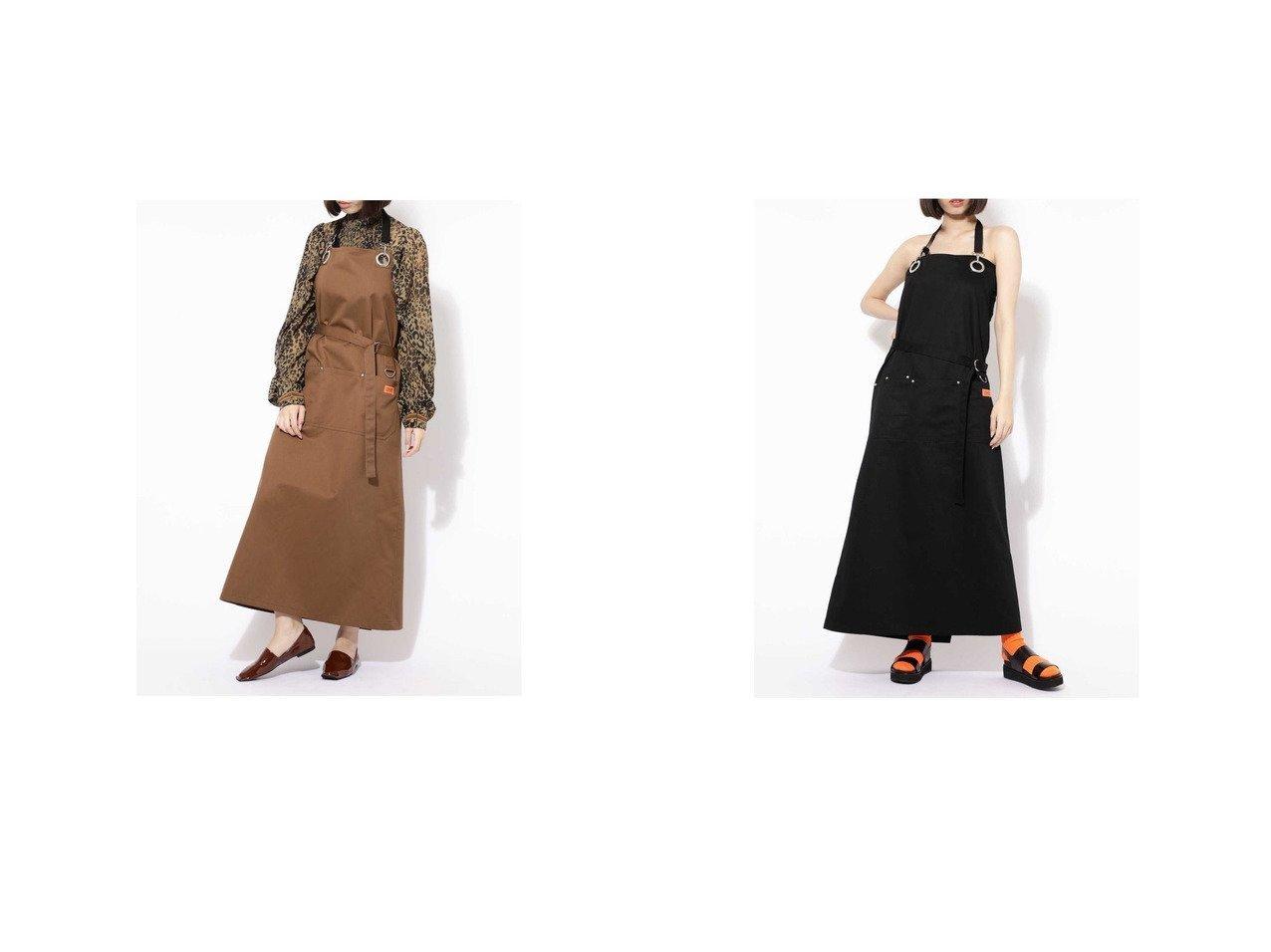 【ROSE BUD/ローズバッド】のエプロン型ワンピース 別注・限定・コラボなど、おすすめ!人気トレンド・レディースファッション通販 おすすめで人気の流行・トレンド、ファッションの通販商品 メンズファッション・キッズファッション・インテリア・家具・レディースファッション・服の通販 founy(ファニー) https://founy.com/ ファッション Fashion レディースファッション WOMEN ワンピース Dress A/W 秋冬 AW Autumn/Winter / FW Fall-Winter ドレス ロング ワーク 今季 別注 |ID:crp329100000015753