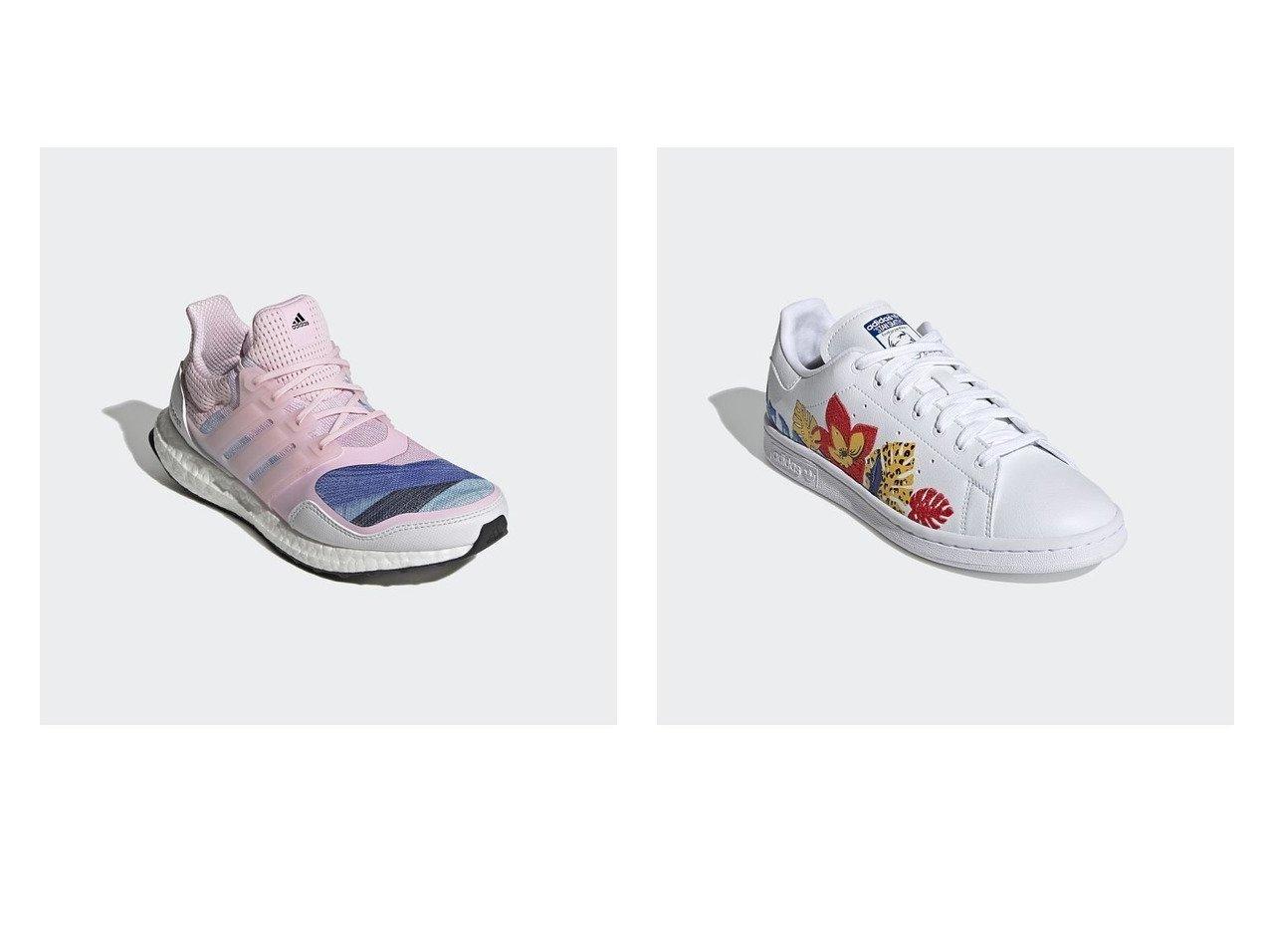 【adidas/アディダス】のウルトラブースト Ultraboost S L DNA&【adidas Originals/アディダス オリジナルス】のスタンスミス Stan Smith 別注・限定・コラボなど、おすすめ!人気トレンド・レディースファッション通販 おすすめで人気の流行・トレンド、ファッションの通販商品 メンズファッション・キッズファッション・インテリア・家具・レディースファッション・服の通販 founy(ファニー) https://founy.com/ ファッション Fashion レディースファッション WOMEN コラボ シューズ スニーカー フィット ライニング ラバー レース NEW・新作・新着・新入荷 New Arrivals クラシック プリント レギュラー |ID:crp329100000015791