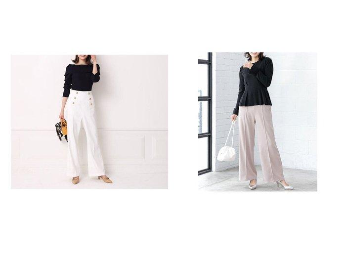 【fifth/フィフス】のセンターシームツイルカラーパンツ&【Apuweiser-riche/アプワイザーリッシェ】のマリンパンツ パンツのおすすめ!人気、トレンド・レディースファッションの通販 おすすめファッション通販アイテム レディースファッション・服の通販 founy(ファニー) ファッション Fashion レディースファッション WOMEN パンツ Pants 2021年 2021 2021 春夏 S/S SS Spring/Summer 2021 S/S 春夏 SS Spring/Summer 春 Spring |ID:crp329100000015802