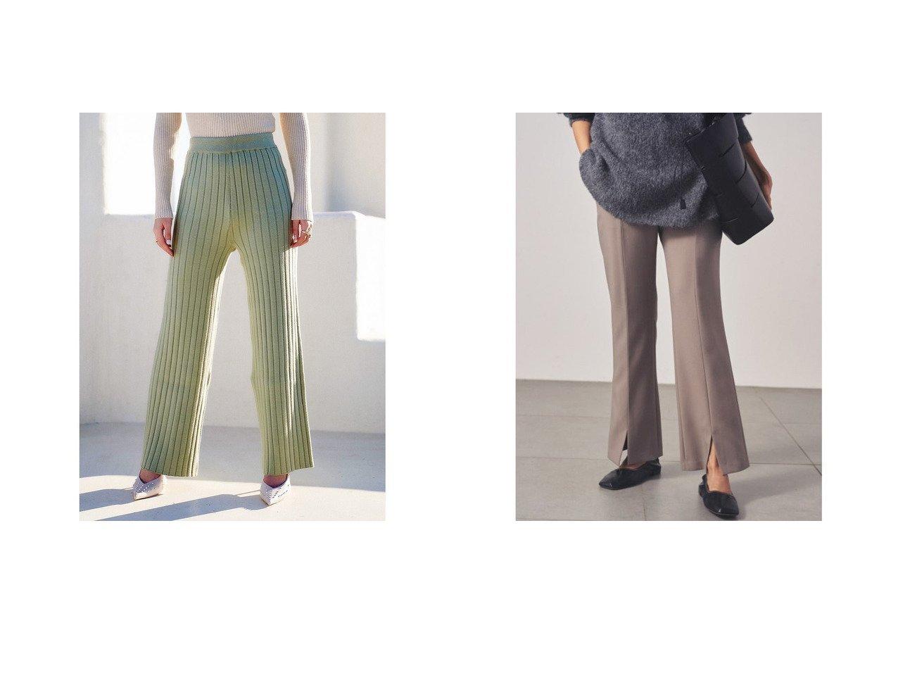 【Darich/ダーリッチ】のワイドリブニットパンツ&【Mila Owen/ミラオーウェン】の3点SETスーツパンツ パンツのおすすめ!人気、トレンド・レディースファッションの通販 おすすめで人気の流行・トレンド、ファッションの通販商品 メンズファッション・キッズファッション・インテリア・家具・レディースファッション・服の通販 founy(ファニー) https://founy.com/ ファッション Fashion レディースファッション WOMEN パンツ Pants スーツ Suits スーツパンツ Pantsuit 2021年 2021 2021 春夏 S/S SS Spring/Summer 2021 S/S 春夏 SS Spring/Summer ワイド 春 Spring ジャケット スマート スリット スーツ フロント |ID:crp329100000015803