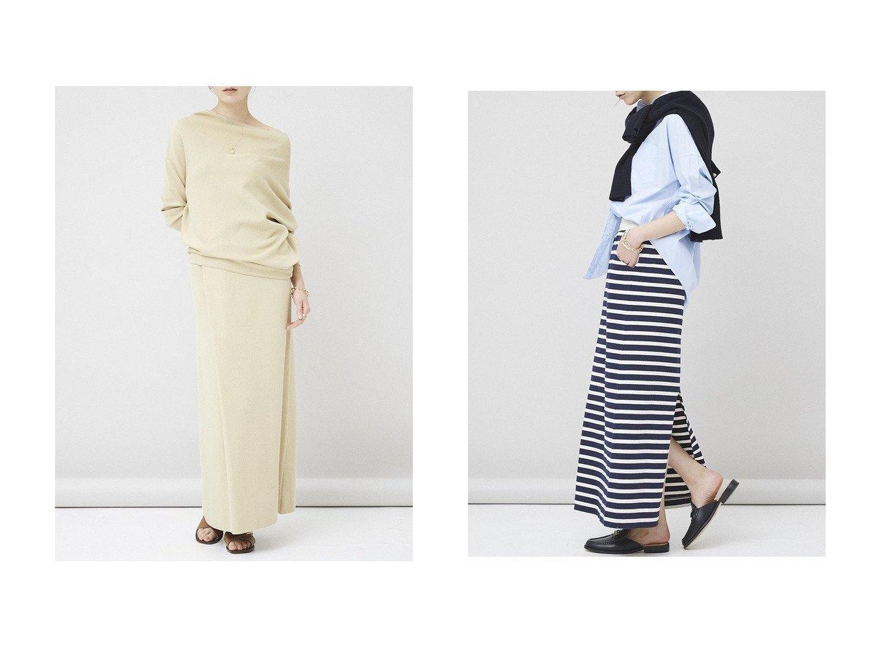 【Curensology/カレンソロジー】のニュアンスニットスカート&【&RC】ボーダースカート スカートのおすすめ!人気、トレンド・レディースファッションの通販 おすすめで人気の流行・トレンド、ファッションの通販商品 メンズファッション・キッズファッション・インテリア・家具・レディースファッション・服の通販 founy(ファニー) https://founy.com/ ファッション Fashion レディースファッション WOMEN スカート Skirt ロングスカート Long Skirt 2021年 2021 2021 春夏 S/S SS Spring/Summer 2021 S/S 春夏 SS Spring/Summer ロング 春 Spring |ID:crp329100000015804