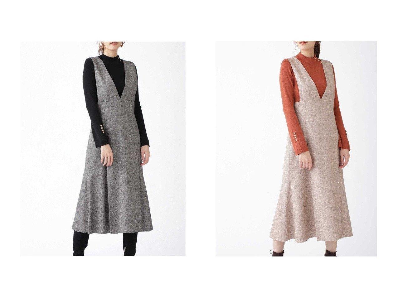 【JILLSTUART/ジルスチュアート】のフラニージャンパースカート スカートのおすすめ!人気、トレンド・レディースファッションの通販 おすすめで人気の流行・トレンド、ファッションの通販商品 メンズファッション・キッズファッション・インテリア・家具・レディースファッション・服の通販 founy(ファニー) https://founy.com/ ファッション Fashion レディースファッション WOMEN スカート Skirt ツイード 秋 Autumn/Fall  ID:crp329100000015814