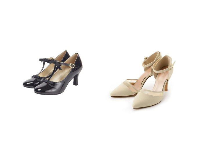【ESPERANZA/エスペランサ】のシースルーラインセパレートパンプス&【Fi.n.t/フィント】のTストラップリボンパンプス シューズ・靴のおすすめ!人気、トレンド・レディースファッションの通販 おすすめファッション通販アイテム インテリア・キッズ・メンズ・レディースファッション・服の通販 founy(ファニー) https://founy.com/ ファッション Fashion レディースファッション WOMEN S/S 春夏 SS Spring/Summer エナメル フェミニン 春 Spring |ID:crp329100000015823