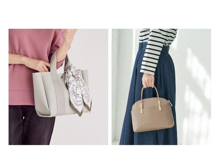 【ROPE'PICNIC PASSAGE/ロペピクニック パサージュ】の【軽量】レクタンメタルミドルボストン ショルダーバッグ&【ROPE/ロペ】のin bag 付きトートバッグ バッグ・鞄のおすすめ!人気、トレンド・レディースファッションの通販 おすすめファッション通販アイテム レディースファッション・服の通販 founy(ファニー) ファッション Fashion レディースファッション WOMEN バッグ Bag シンプル チュール ベーシック フォルム ボストンバッグ ポケット ミドル メタリック モダン ラウンド 春 Spring 軽量 |ID:crp329100000015829