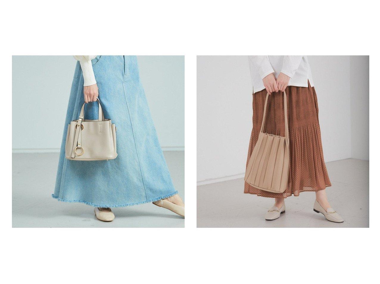 【Rouge vif la cle/ルージュヴィフラクレ】の【Avancer】2wayリングタッセル付きハンドバッグ&【Avancer】ポーチ付き/フェイクレザープリーツトートバッグ バッグ・鞄のおすすめ!人気、トレンド・レディースファッションの通販 おすすめで人気の流行・トレンド、ファッションの通販商品 メンズファッション・キッズファッション・インテリア・家具・レディースファッション・服の通販 founy(ファニー) https://founy.com/ ファッション Fashion レディースファッション WOMEN バッグ Bag ポーチ Pouches ショルダー シンプル トレンド ハンドバッグ パーティ ベーシック ポケット フェイクレザー プリーツ ポーチ 巾着 |ID:crp329100000015831