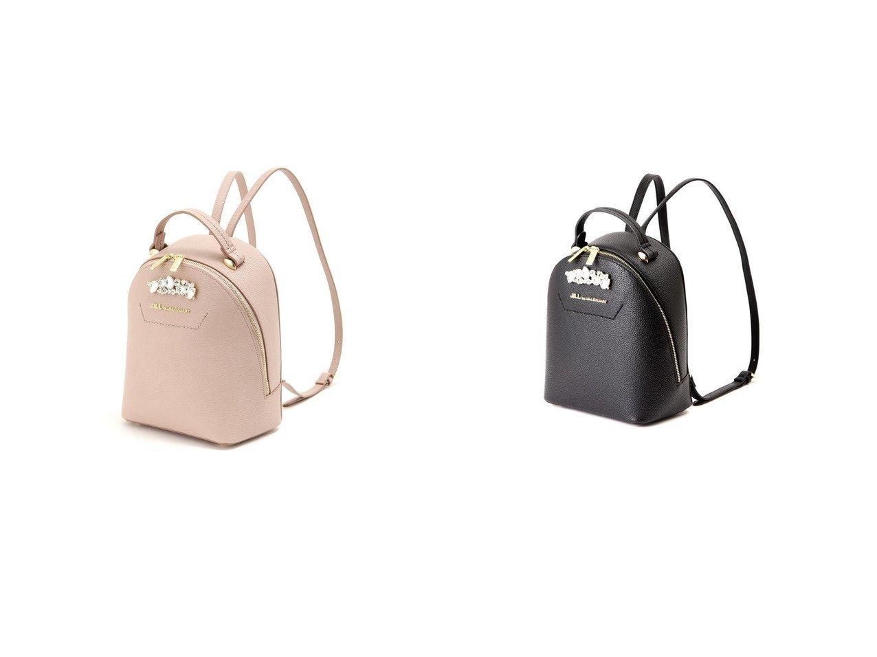 【JILL by JILLSTUART/ジルバイジルスチュアート】のビジューロイヤルバックパック バッグ・鞄のおすすめ!人気、トレンド・レディースファッションの通販 おすすめで人気の流行・トレンド、ファッションの通販商品 メンズファッション・キッズファッション・インテリア・家具・レディースファッション・服の通販 founy(ファニー) https://founy.com/ ファッション Fashion レディースファッション WOMEN バッグ Bag エレガント 春 Spring ショルダー ジュエリー ストーン フォルム 2021年 2021 S/S 春夏 SS Spring/Summer 2021 春夏 S/S SS Spring/Summer 2021 |ID:crp329100000015833