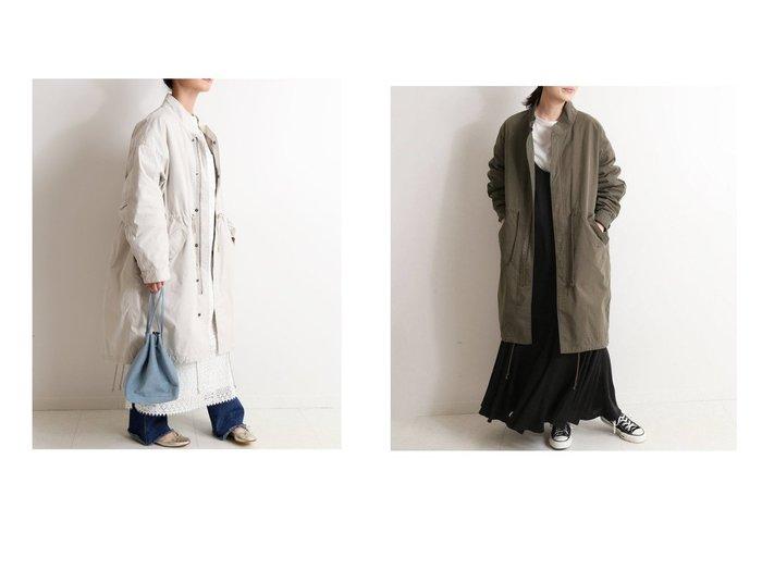 【SLOBE IENA/スローブ イエナ】のライナー付きモッズコート アウターのおすすめ!人気、トレンド・レディースファッションの通販 おすすめファッション通販アイテム インテリア・キッズ・メンズ・レディースファッション・服の通販 founy(ファニー) https://founy.com/ ファッション Fashion レディースファッション WOMEN アウター Coat Outerwear コート Coats モッズ/フィールドコート Mods Field Coats 2020年 2020 2020-2021 秋冬 A/W AW Autumn/Winter / FW Fall-Winter 2020-2021 A/W 秋冬 AW Autumn/Winter / FW Fall-Winter フレンチ フロント ミリタリー モッズコート ライナー リラックス レース ロング |ID:crp329100000015842