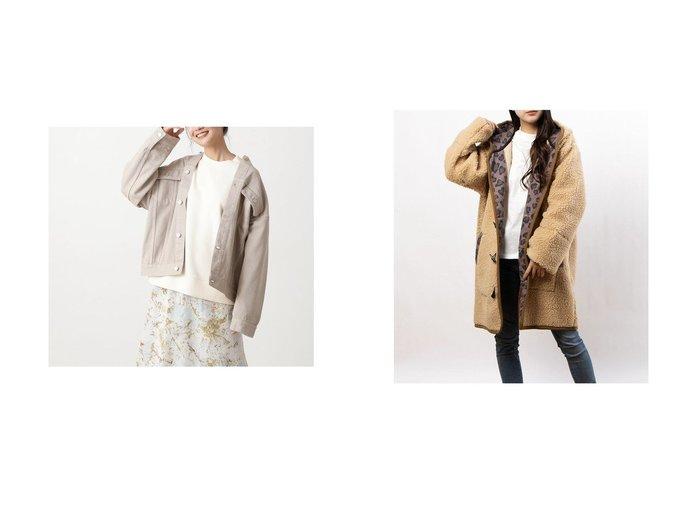 【N.Natural Beauty basic/エヌ ナチュラルビューティーベーシック】のノーカラーGジャン&【nina mew/ニーナミュウ】のヒョウ柄ボアコート アウターのおすすめ!人気、トレンド・レディースファッションの通販 おすすめファッション通販アイテム レディースファッション・服の通販 founy(ファニー)  ファッション Fashion レディースファッション WOMEN アウター Coat Outerwear コート Coats 2021年 2021 2021 春夏 S/S SS Spring/Summer 2021 S/S 春夏 SS Spring/Summer カットオフ ジャケット デニム リラックス 春 Spring 2020年 2020 2020-2021 秋冬 A/W AW Autumn/Winter / FW Fall-Winter 2020-2021 A/W 秋冬 AW Autumn/Winter / FW Fall-Winter ヒョウ |ID:crp329100000015846