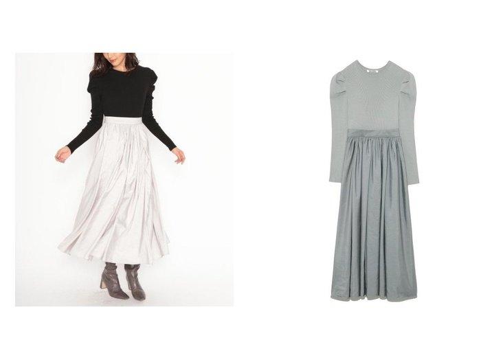 【SNIDEL/スナイデル】のパワショルニットドッキングワンピース ワンピース・ドレスのおすすめ!人気、トレンド・レディースファッションの通販 おすすめファッション通販アイテム インテリア・キッズ・メンズ・レディースファッション・服の通販 founy(ファニー) https://founy.com/ ファッション Fashion レディースファッション WOMEN ワンピース Dress マキシワンピース Maxi Dress 今季 スリーブ タフタ トレンド ドッキング マキシ ロング 再入荷 Restock/Back in Stock/Re Arrival |ID:crp329100000015855