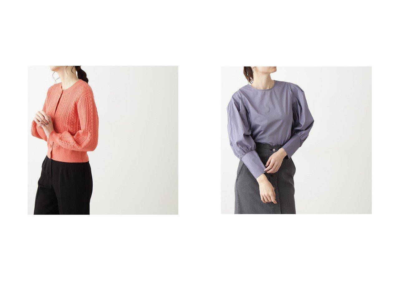 【N.Natural Beauty basic/エヌ ナチュラルビューティーベーシック】のクルーネック柄編みカーディガン&コットンパワーショルダーブラウス トップス・カットソーのおすすめ!人気、トレンド・レディースファッションの通販 おすすめで人気の流行・トレンド、ファッションの通販商品 メンズファッション・キッズファッション・インテリア・家具・レディースファッション・服の通販 founy(ファニー) https://founy.com/ ファッション Fashion レディースファッション WOMEN トップス Tops Tshirt カーディガン Cardigans シャツ/ブラウス Shirts Blouses 2021年 2021 2021 春夏 S/S SS Spring/Summer 2021 S/S 春夏 SS Spring/Summer アクリル インナー カーディガン シンプル スタンダード 春 Spring |ID:crp329100000015898