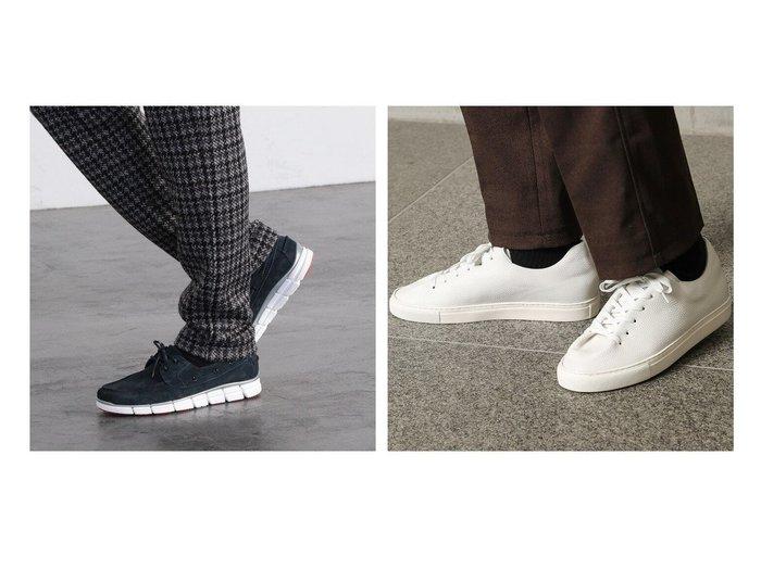 【Men's Bigi / MEN/メンズビギトーキョー】の別注 レザーデッキシューズ&別注レザースニーカー 【MEN】別注・限定・コラボなど、おすすめ!人気トレンド・メンズファッション通販 おすすめファッション通販アイテム レディースファッション・服の通販 founy(ファニー) ファッション Fashion メンズファッション MEN シューズ・靴 Shoes Men スニーカー Sneakers コレクション シューズ シンプル スエード スタイリッシュ スニーカー 別注 モノトーン ランニング NEW・新作・新着・新入荷 New Arrivals |ID:crp329100000016026