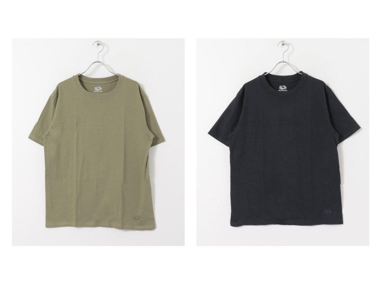 【SENSE OF PLACE / URBAN RESEARCH / MEN/センス オブ プレイス】の【WEB限定】FRUIT OF THE LOOM Tシャツ(半袖) 【MEN】別注・限定・コラボなど、おすすめ!人気トレンド・メンズファッション通販 おすすめで人気の流行・トレンド、ファッションの通販商品 メンズファッション・キッズファッション・インテリア・家具・レディースファッション・服の通販 founy(ファニー) https://founy.com/ ファッション Fashion メンズファッション MEN トップス Tops Tshirt Men シャツ Shirts インナー カットソー シンプル スポーツ プリント ポケット ワンポイント 半袖 |ID:crp329100000016041