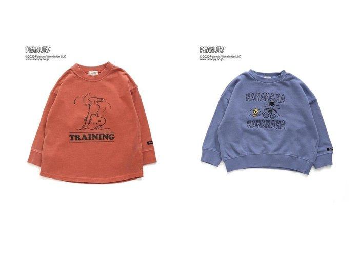 【F.O.Online Store / KIDS/エフオー オンラインストア】のPEANUTSコラボTシャツ&PEANUTSコラボトレーナー 【KIDS】別注・限定・コラボなど、おすすめ!人気トレンド・キッズファッション通販 おすすめファッション通販アイテム インテリア・キッズ・メンズ・レディースファッション・服の通販 founy(ファニー) https://founy.com/ ファッション Fashion キッズファッション KIDS トップス Tops Tees Kids インディゴ コラボ 長袖 ユーズド NEW・新作・新着・新入荷 New Arrivals トレーナー |ID:crp329100000016050