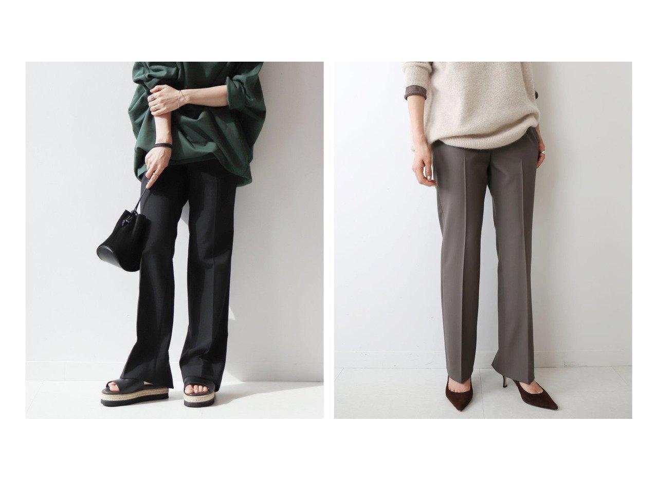 【Plage/プラージュ】の《追加》ソモウスリットパンツ4 パンツのおすすめ!人気、トレンド・レディースファッションの通販 おすすめで人気の流行・トレンド、ファッションの通販商品 メンズファッション・キッズファッション・インテリア・家具・レディースファッション・服の通販 founy(ファニー) https://founy.com/ ファッション Fashion レディースファッション WOMEN パンツ Pants 2020年 2020 2020-2021 秋冬 A/W AW Autumn/Winter / FW Fall-Winter 2020-2021 A/W 秋冬 AW Autumn/Winter / FW Fall-Winter シンプル ストレート スリット  ID:crp329100000016055