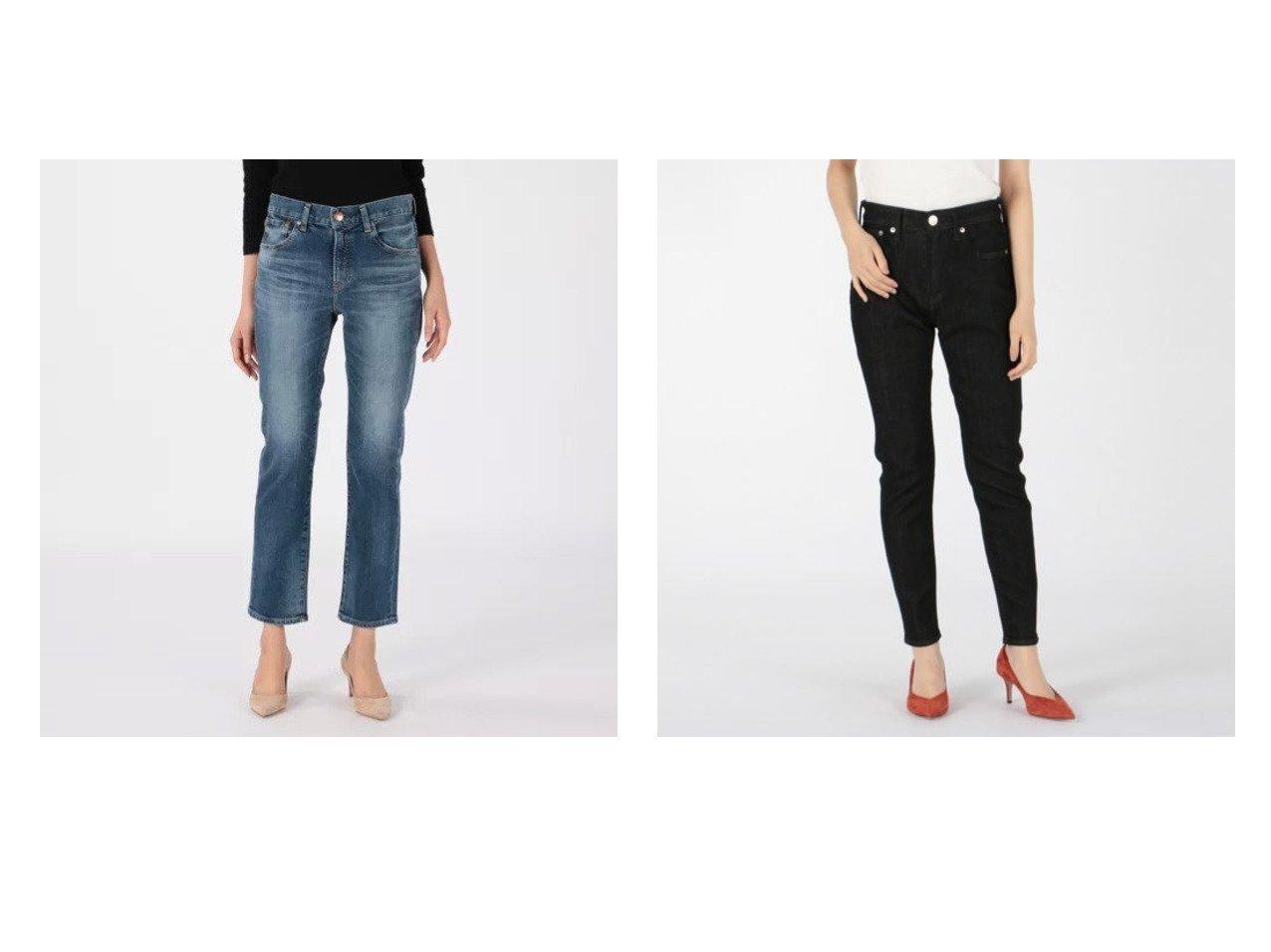 【RED CARD/レッドカード】のLiberty&Anniversary Highrise パンツのおすすめ!人気、トレンド・レディースファッションの通販 おすすめで人気の流行・トレンド、ファッションの通販商品 メンズファッション・キッズファッション・インテリア・家具・レディースファッション・服の通販 founy(ファニー) https://founy.com/ ファッション Fashion レディースファッション WOMEN パンツ Pants ウォッシュ グラデーション スキニー ストレート デニム ヴィンテージ 冬 Winter 洗える  ID:crp329100000016056