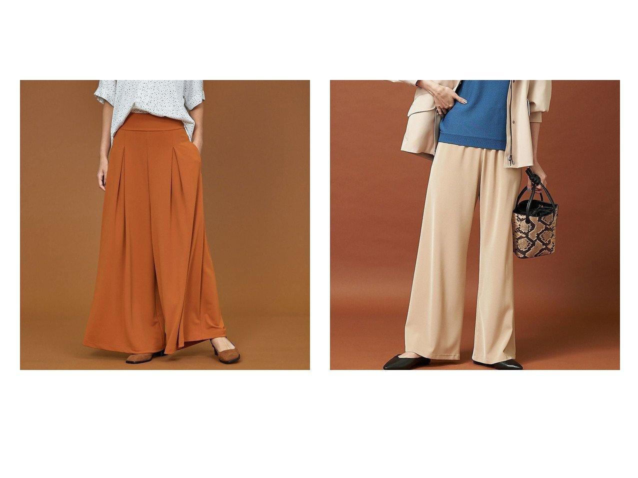 【qualite/カリテ】の《再入荷》ストレッチツイルフレアパンツ&ストレッチポンチワイドパンツ パンツのおすすめ!人気、トレンド・レディースファッションの通販 おすすめで人気の流行・トレンド、ファッションの通販商品 メンズファッション・キッズファッション・インテリア・家具・レディースファッション・服の通販 founy(ファニー) https://founy.com/ ファッション Fashion レディースファッション WOMEN パンツ Pants 2020年 2020 2020 春夏 S/S SS Spring/Summer 2020 A/W 秋冬 AW Autumn/Winter / FW Fall-Winter S/S 春夏 SS Spring/Summer トレンド フレア リラックス 再入荷 Restock/Back in Stock/Re Arrival 春 Spring |ID:crp329100000016071