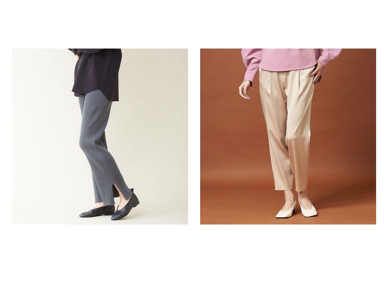 【qualite/カリテ】のサテンタックドロストパンツ&ホールガーメントサイドスリットパンツ パンツのおすすめ!人気、トレンド・レディースファッションの通販 おすすめで人気の流行・トレンド、ファッションの通販商品 メンズファッション・キッズファッション・インテリア・家具・レディースファッション・服の通販 founy(ファニー) https://founy.com/ ファッション Fashion レディースファッション WOMEN パンツ Pants 春 Spring シューズ センター ダウン バランス ベーシック 楽ちん 2020年 2020 S/S 春夏 SS Spring/Summer 2020 春夏 S/S SS Spring/Summer 2020 A/W 秋冬 AW Autumn/Winter / FW Fall-Winter スウェット スリット ドレス フラット マキシ |ID:crp329100000016072