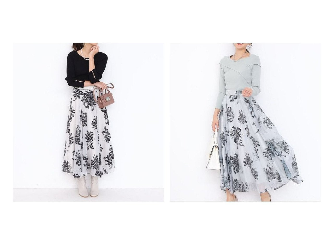 【JUSGLITTY/ジャスグリッティー】のフロッキーフラワースカート スカートのおすすめ!人気、トレンド・レディースファッションの通販 おすすめで人気の流行・トレンド、ファッションの通販商品 メンズファッション・キッズファッション・インテリア・家具・レディースファッション・服の通販 founy(ファニー) https://founy.com/ ファッション Fashion レディースファッション WOMEN スカート Skirt Aライン/フレアスカート Flared A-Line Skirts エアリー オケージョン ギャザー シアー フレア |ID:crp329100000016087