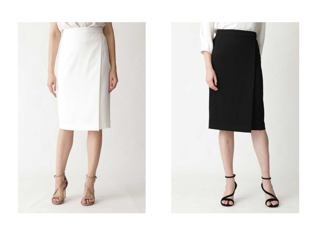 【Pinky&Dianne/ピンキーアンドダイアン】のトリアセ綾二重スカート スカートのおすすめ!人気、トレンド・レディースファッションの通販 おすすめで人気の流行・トレンド、ファッションの通販商品 メンズファッション・キッズファッション・インテリア・家具・レディースファッション・服の通販 founy(ファニー) https://founy.com/ ファッション Fashion レディースファッション WOMEN スカート Skirt エレガント ジャケット セットアップ ラップ 春 Spring |ID:crp329100000016091