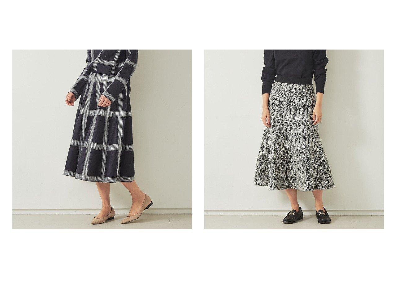【Rouge vif la cle/ルージュヴィフラクレ】の【BRAHMIN】ジャガードニットスカート&【BRAHMIN】チェック柄ジャガードニットスカート スカートのおすすめ!人気、トレンド・レディースファッションの通販 おすすめで人気の流行・トレンド、ファッションの通販商品 メンズファッション・キッズファッション・インテリア・家具・レディースファッション・服の通販 founy(ファニー) https://founy.com/ ファッション Fashion レディースファッション WOMEN スカート Skirt アクリル シンプル セットアップ チェック フェミニン A/W 秋冬 AW Autumn/Winter / FW Fall-Winter 2020年 2020 2020-2021 秋冬 A/W AW Autumn/Winter / FW Fall-Winter 2020-2021 |ID:crp329100000016093