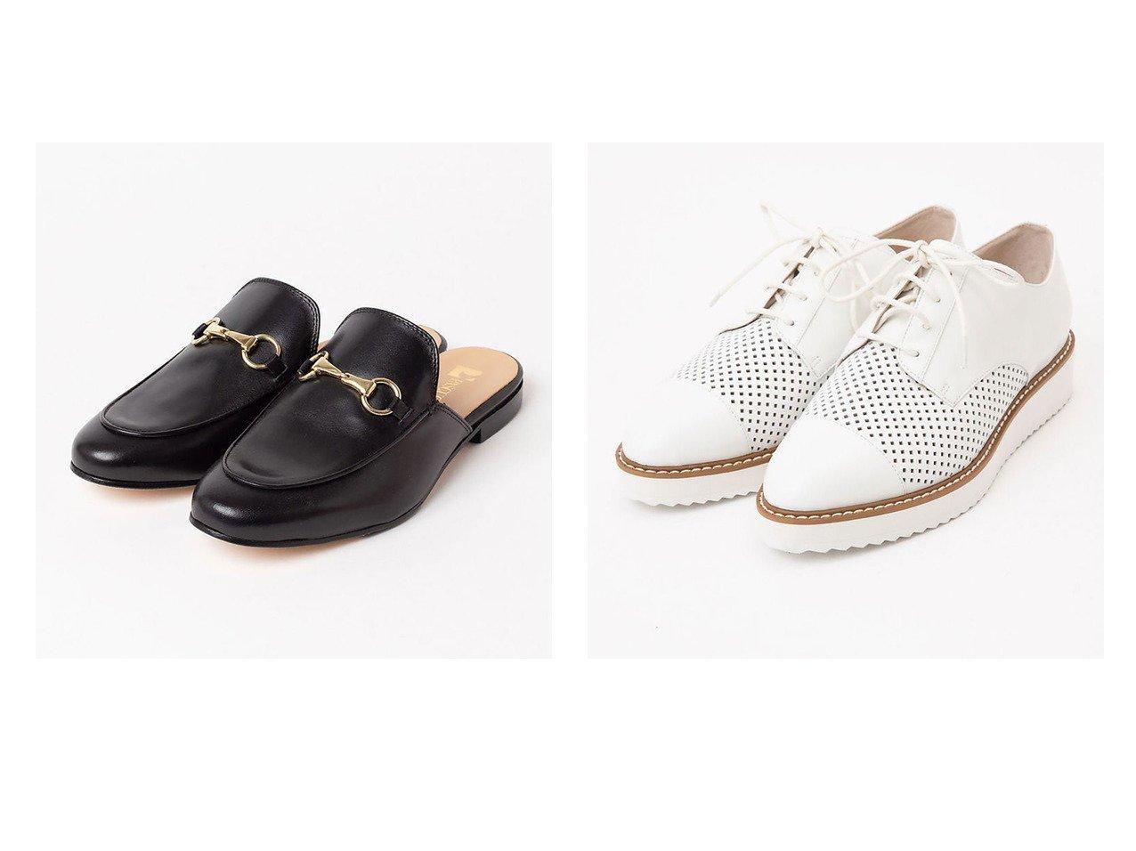 【Piche Abahouse/ピシェ アバハウス】のパンチング レースアップシューズ&【PASCUCCI】レザービットミュール シューズ・靴のおすすめ!人気、トレンド・レディースファッションの通販 おすすめで人気の流行・トレンド、ファッションの通販商品 メンズファッション・キッズファッション・インテリア・家具・レディースファッション・服の通販 founy(ファニー) https://founy.com/ ファッション Fashion レディースファッション WOMEN S/S 春夏 SS Spring/Summer 春 Spring 軽量 イタリア エレガント  ID:crp329100000016104
