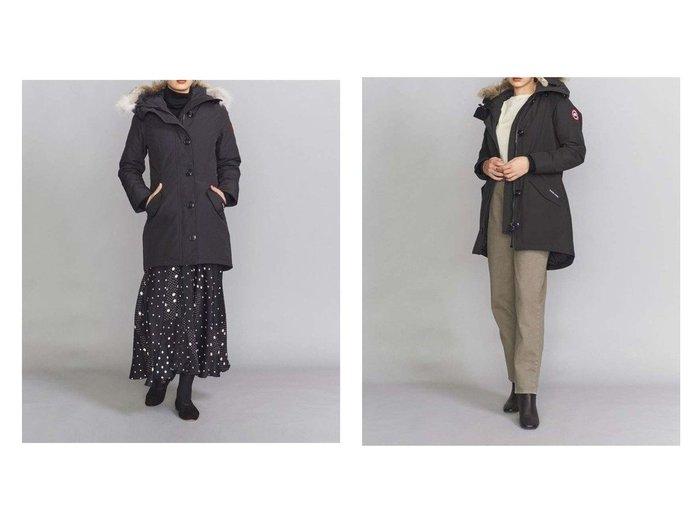 【BEAUTY&YOUTH UNITED ARROWS/ビューティアンド ユースユナイテッドアローズ】のCANADA GOOSE(カナダグース) ROSSCLAIR PARKA ダウンジャケット アウターのおすすめ!人気、トレンド・レディースファッションの通販 おすすめファッション通販アイテム レディースファッション・服の通販 founy(ファニー) ファッション Fashion レディースファッション WOMEN アウター Coat Outerwear コート Coats ジャケット Jackets キルト ジャケット スタイリッシュ ダウン ドローコード 定番 Standard ミドル |ID:crp329100000016143