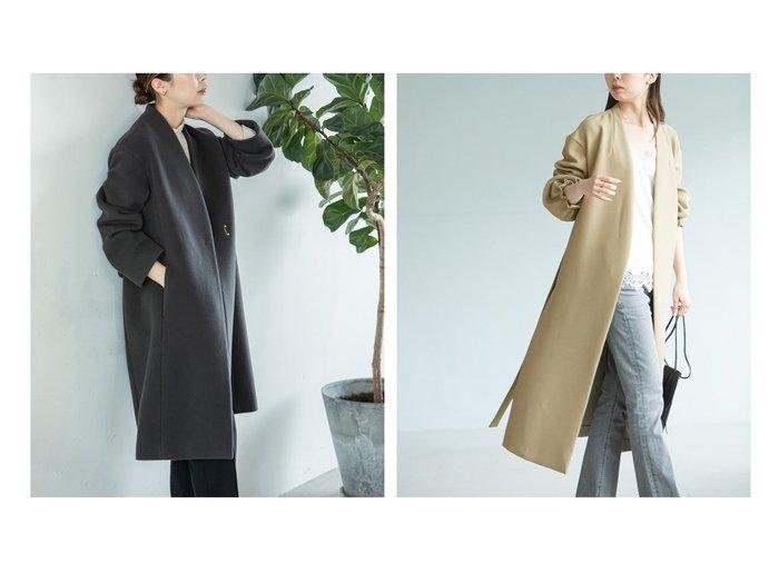 【NOBLE / Spick & Span/ノーブル / スピック&スパン】の《追加》MTRウールカシミヤ Vカラーコート&トリプルクロスパフスリーブコート アウターのおすすめ!人気、トレンド・レディースファッションの通販 おすすめファッション通販アイテム レディースファッション・服の通販 founy(ファニー) ファッション Fashion レディースファッション WOMEN アウター Coat Outerwear コート Coats 2021年 2021 2021 春夏 S/S SS Spring/Summer 2021 S/S 春夏 SS Spring/Summer ガウン スリーブ フェミニン リラックス ロング 人気 軽量 オケージョン カシミア カシミヤ ショルダー シンプル スタイリッシュ ドロップ バランス A/W 秋冬 AW Autumn/Winter / FW Fall-Winter 2020年 2020 再入荷 Restock/Back in Stock/Re Arrival 2020-2021 秋冬 A/W AW Autumn/Winter / FW Fall-Winter 2020-2021 |ID:crp329100000016145