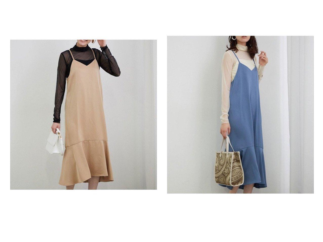 【VIS/ビス】のリトルフラワーキャミワンピース ワンピース・ドレスのおすすめ!人気、トレンド・レディースファッションの通販 おすすめで人気の流行・トレンド、ファッションの通販商品 メンズファッション・キッズファッション・インテリア・家具・レディースファッション・服の通販 founy(ファニー) https://founy.com/ ファッション Fashion レディースファッション WOMEN ワンピース Dress キャミワンピース No Sleeve Dresses NEW・新作・新着・新入荷 New Arrivals キャミソール サテン シアー トレンド ハイネック フラワー フレア プリント ポケット 無地 |ID:crp329100000016177