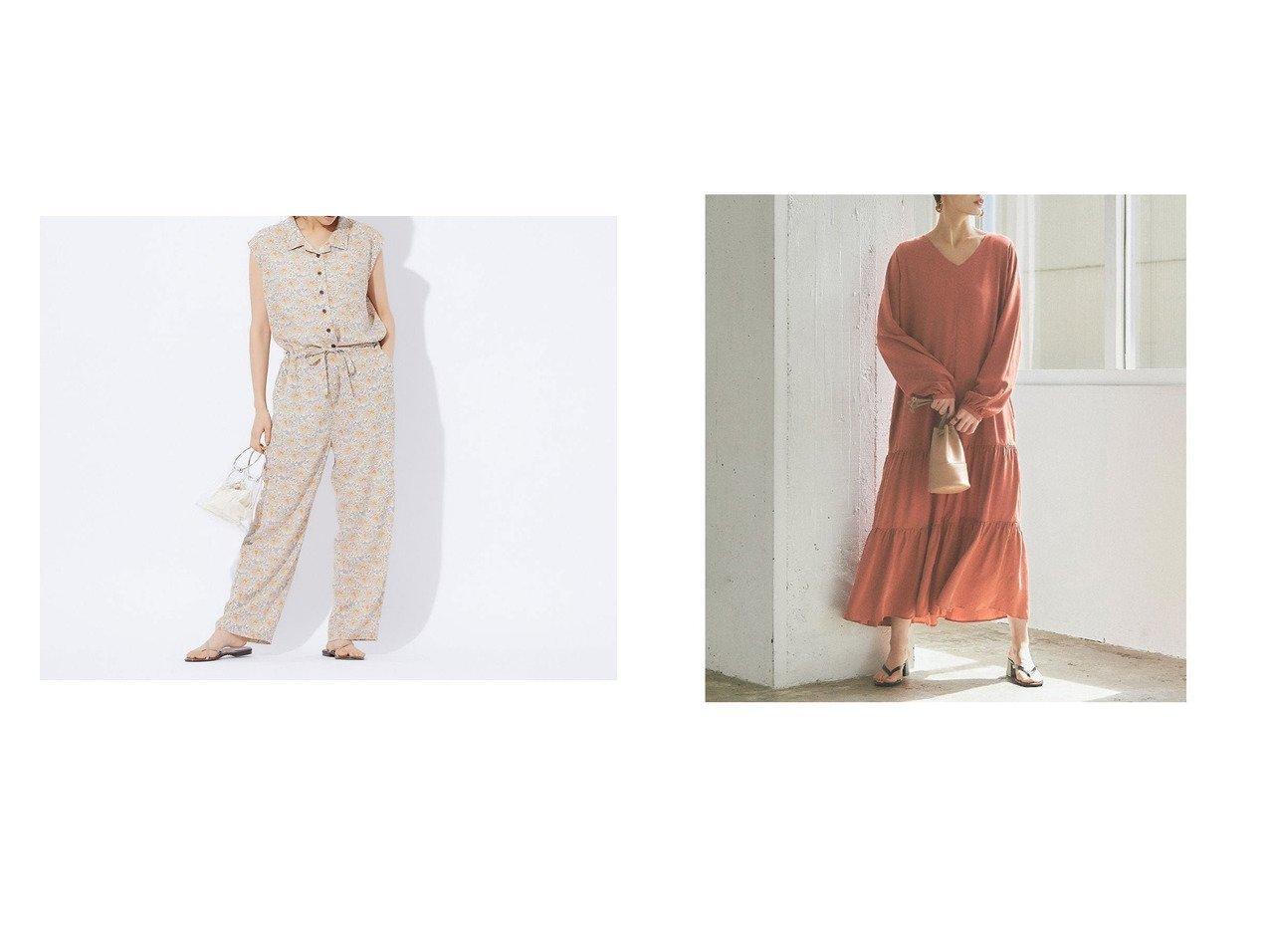 【titivate/ティティベイト】のVネックティアードワンピース&【Rouge vif la cle/ルージュヴィフラクレ】のフラワープリントジャンプスーツ ワンピース・ドレスのおすすめ!人気、トレンド・レディースファッションの通販 おすすめで人気の流行・トレンド、ファッションの通販商品 メンズファッション・キッズファッション・インテリア・家具・レディースファッション・服の通販 founy(ファニー) https://founy.com/ ファッション Fashion レディースファッション WOMEN ワンピース Dress 2020年 2020 2020 春夏 S/S SS Spring/Summer 2020 S/S 春夏 SS Spring/Summer スーツ 今季 春 Spring イエロー 長袖 フェミニン ペチコート マキシ A/W 秋冬 AW Autumn/Winter / FW Fall-Winter 2020-2021 秋冬 A/W AW Autumn/Winter / FW Fall-Winter 2020-2021 |ID:crp329100000016181