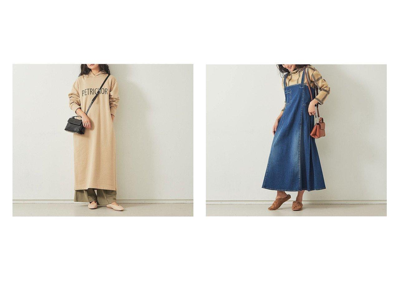 【Rouge vif la cle/ルージュヴィフラクレ】の【Mylanka】ロゴパーカーワンピース&【Mylanka】ストレッチデニムワンピース ワンピース・ドレスのおすすめ!人気、トレンド・レディースファッションの通販 おすすめで人気の流行・トレンド、ファッションの通販商品 メンズファッション・キッズファッション・インテリア・家具・レディースファッション・服の通販 founy(ファニー) https://founy.com/ ファッション Fashion レディースファッション WOMEN ワンピース Dress 2020年 2020 2020-2021 秋冬 A/W AW Autumn/Winter / FW Fall-Winter 2020-2021 A/W 秋冬 AW Autumn/Winter / FW Fall-Winter パーカー リラックス ロング ワイド インディゴ カットソー サロペット シンプル ストレッチ デニム フレア |ID:crp329100000016184