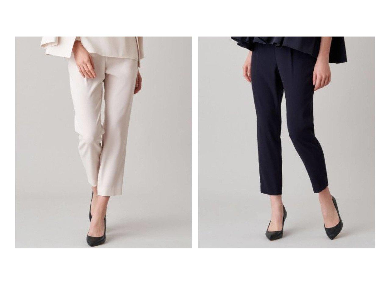 【ANAYI/アナイ】の【2021 Eternal Line】ジョーゼットテーパードパンツ パンツのおすすめ!人気、トレンド・レディースファッションの通販 おすすめで人気の流行・トレンド、ファッションの通販商品 メンズファッション・キッズファッション・インテリア・家具・レディースファッション・服の通販 founy(ファニー) https://founy.com/ ファッション Fashion レディースファッション WOMEN パンツ Pants ギャザー サテン ジョーゼット スーツ セットアップ 定番 Standard バランス フロント ポケット リラックス NEW・新作・新着・新入荷 New Arrivals |ID:crp329100000016268
