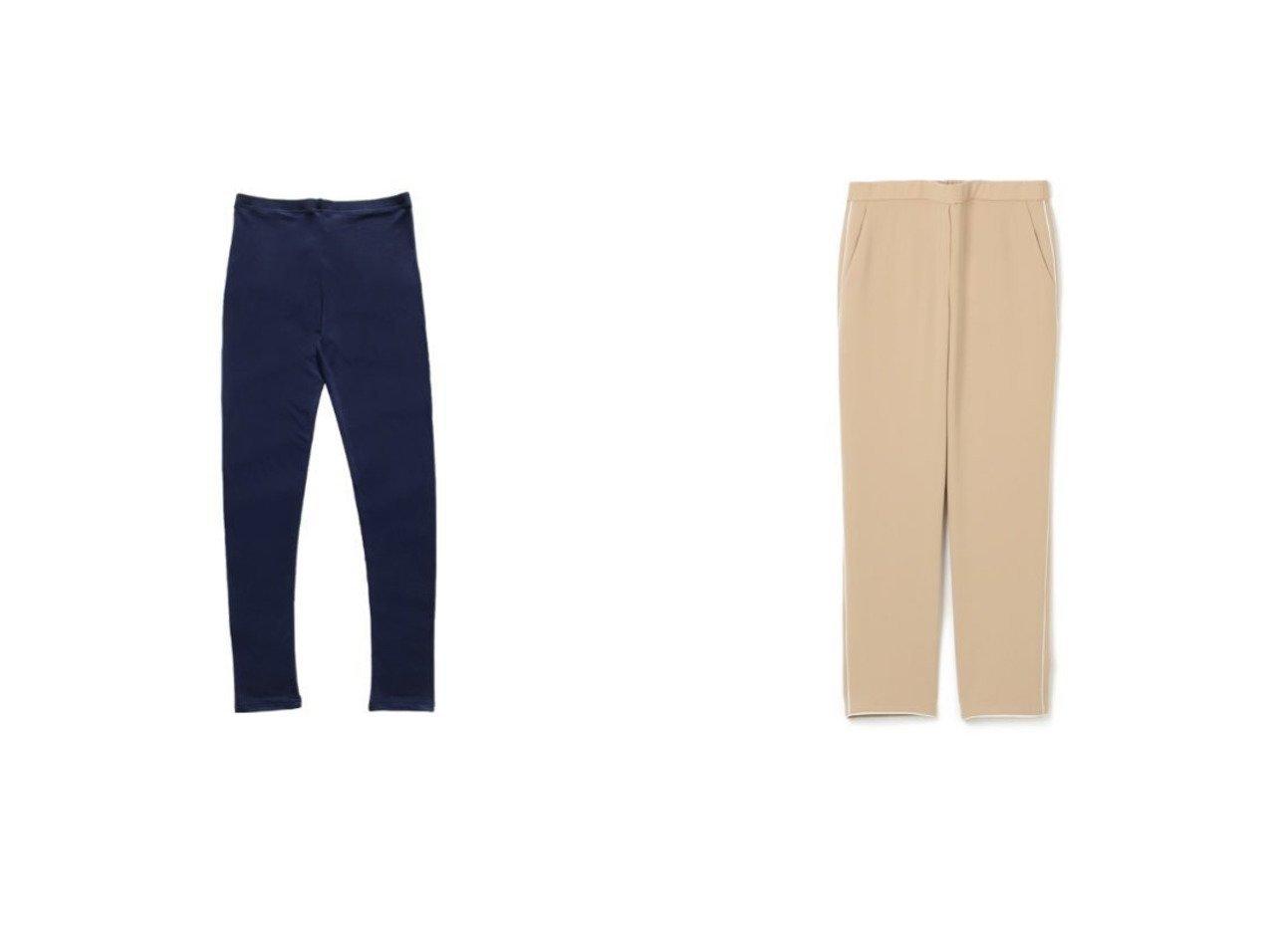 【la sakura/ラ サクラ】のシルクストレッチ レギンス&【theory/セオリー】のCLASSIC CREPE TREECA PULL パンツのおすすめ!人気、トレンド・レディースファッションの通販 おすすめで人気の流行・トレンド、ファッションの通販商品 メンズファッション・キッズファッション・インテリア・家具・レディースファッション・服の通販 founy(ファニー) https://founy.com/ ファッション Fashion レディースファッション WOMEN パンツ Pants レギンス Leggings レッグウェア Legwear とろみ なめらか アンダー インナー シルク ストレッチ フィット レギンス 冬 Winter 洗える 2021年 2021 2021 春夏 S/S SS Spring/Summer 2021 S/S 春夏 SS Spring/Summer パイピング ベーシック |ID:crp329100000016274