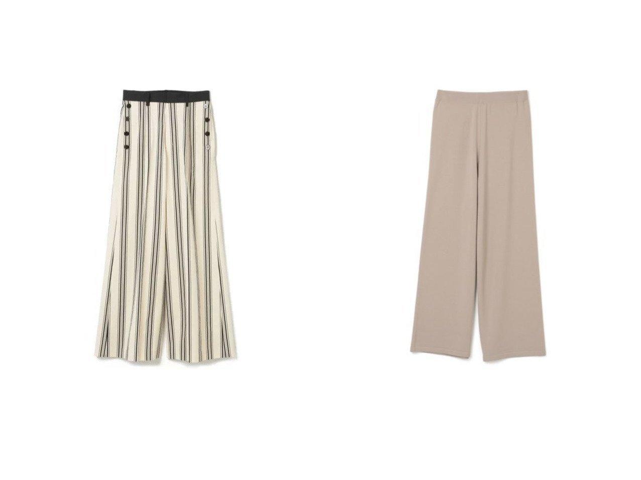 【theory/セオリー】のSUPER WOOL WIDE KNIT PT&【AKIRANAKA/アキラナカ】のBecky pants パンツのおすすめ!人気、トレンド・レディースファッションの通販 おすすめで人気の流行・トレンド、ファッションの通販商品 メンズファッション・キッズファッション・インテリア・家具・レディースファッション・服の通販 founy(ファニー) https://founy.com/ ファッション Fashion レディースファッション WOMEN パンツ Pants 2021年 2021 2021 春夏 S/S SS Spring/Summer 2021 S/S 春夏 SS Spring/Summer ストライプ ワイド |ID:crp329100000016275