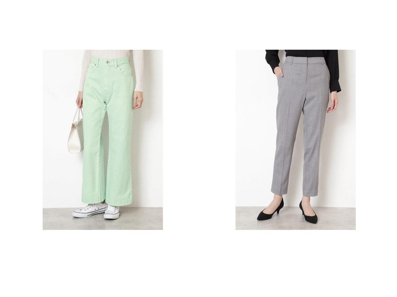 【NATURAL BEAUTY BASIC/ナチュラル ビューティー ベーシック】のデニムパンツ&フローラツイル セットアップ パンツ パンツのおすすめ!人気、トレンド・レディースファッションの通販 おすすめで人気の流行・トレンド、ファッションの通販商品 メンズファッション・キッズファッション・インテリア・家具・レディースファッション・服の通販 founy(ファニー) https://founy.com/ ファッション Fashion レディースファッション WOMEN パンツ Pants デニムパンツ Denim Pants セットアップ Setup パンツ Pants 2021年 2021 2021 春夏 S/S SS Spring/Summer 2021 S/S 春夏 SS Spring/Summer インディゴ カットソー チュニック デニム ワイド 春 Spring シンプル ジャケット ストレッチ セットアップ メランジ |ID:crp329100000016280