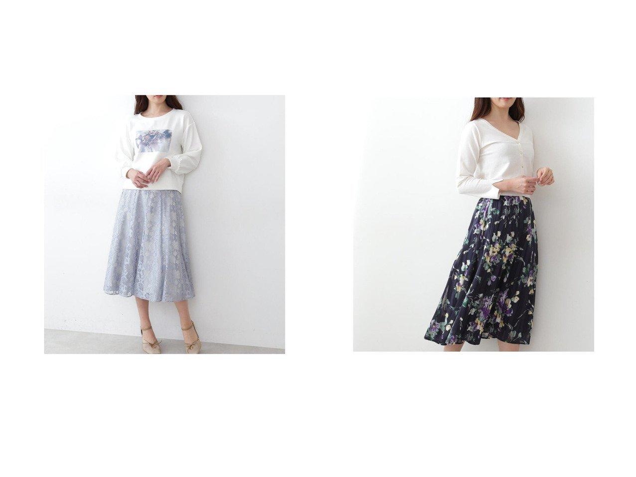 【JILL by JILLSTUART/ジルバイジルスチュアート】のスカシレーススカート&ストライプフローラルスカート スカートのおすすめ!人気、トレンド・レディースファッションの通販 おすすめで人気の流行・トレンド、ファッションの通販商品 メンズファッション・キッズファッション・インテリア・家具・レディースファッション・服の通販 founy(ファニー) https://founy.com/ ファッション Fashion レディースファッション WOMEN スカート Skirt 春 Spring スウェット 透かし フレア レース 2021年 2021 S/S 春夏 SS Spring/Summer 2021 春夏 S/S SS Spring/Summer 2021 |ID:crp329100000016298
