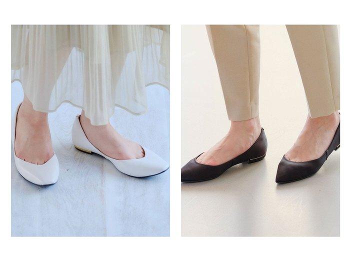 【green label relaxing / UNITED ARROWS/グリーンレーベル リラクシング / ユナイテッドアローズ】の【 Oggi コラボ 】 7days D ポインテッドプレーン フラットシューズ(1.5cmヒール)&【 Oggi コラボ 】 7days FFC スクエアVカット フラットシューズ(1.5cmヒール) シューズ・靴のおすすめ!人気、トレンド・レディースファッションの通販 おすすめファッション通販アイテム インテリア・キッズ・メンズ・レディースファッション・服の通販 founy(ファニー) https://founy.com/ ファッション Fashion レディースファッション WOMEN カッティング クッション コラボ 抗菌 サテン シューズ トレンド パイソン フィット フラット フロント ベーシック ワーク 再入荷 Restock/Back in Stock/Re Arrival NEW・新作・新着・新入荷 New Arrivals |ID:crp329100000016302